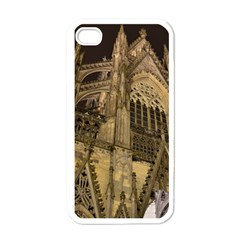 Cologne Church Evening Showplace Apple Iphone 4 Case (white)