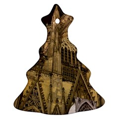 Cologne Church Evening Showplace Christmas Tree Ornament (two Sides)