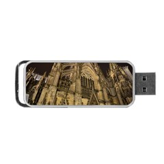 Cologne Church Evening Showplace Portable Usb Flash (one Side)