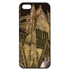 Cologne Church Evening Showplace Apple Iphone 5 Seamless Case (black)