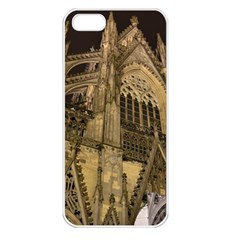 Cologne Church Evening Showplace Apple Iphone 5 Seamless Case (white)