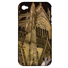 Cologne Church Evening Showplace Apple Iphone 4/4s Hardshell Case (pc+silicone)