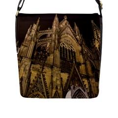 Cologne Church Evening Showplace Flap Messenger Bag (l)