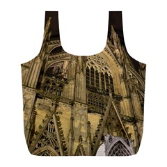 Cologne Church Evening Showplace Full Print Recycle Bags (l)