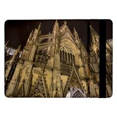 Cologne Church Evening Showplace Samsung Galaxy Tab Pro 12 2  Flip Case