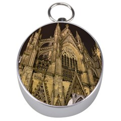 Cologne Church Evening Showplace Silver Compasses