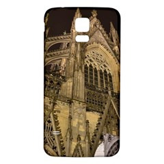 Cologne Church Evening Showplace Samsung Galaxy S5 Back Case (white)