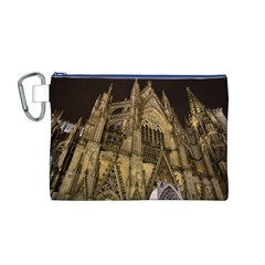 Cologne Church Evening Showplace Canvas Cosmetic Bag (m)