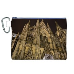 Cologne Church Evening Showplace Canvas Cosmetic Bag (xl)