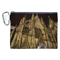 Cologne Church Evening Showplace Canvas Cosmetic Bag (xxl)