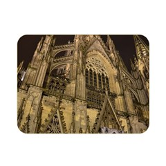 Cologne Church Evening Showplace Double Sided Flano Blanket (mini)