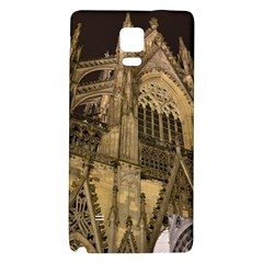 Cologne Church Evening Showplace Galaxy Note 4 Back Case