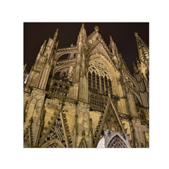 Cologne Church Evening Showplace Small Satin Scarf (square)