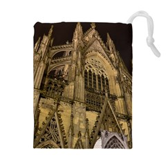 Cologne Church Evening Showplace Drawstring Pouches (extra Large)