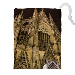Cologne Church Evening Showplace Drawstring Pouches (xxl)