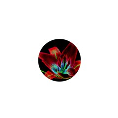 Flower Pattern Design Abstract Background 1  Mini Magnets