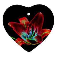 Flower Pattern Design Abstract Background Ornament (heart)