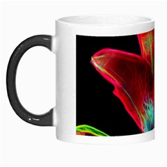Flower Pattern Design Abstract Background Morph Mugs