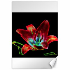 Flower Pattern Design Abstract Background Canvas 20  X 30