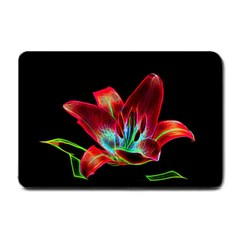 Flower Pattern Design Abstract Background Small Doormat