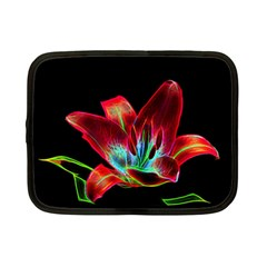 Flower Pattern Design Abstract Background Netbook Case (small)