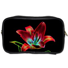 Flower Pattern Design Abstract Background Toiletries Bags