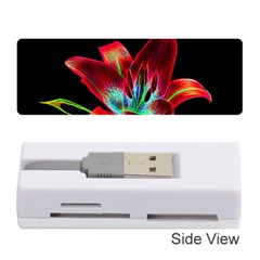 Flower Pattern Design Abstract Background Memory Card Reader (stick)