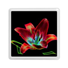 Flower Pattern Design Abstract Background Memory Card Reader (square)