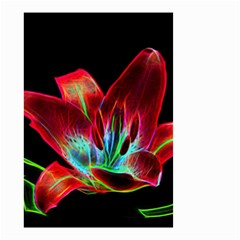 Flower Pattern Design Abstract Background Small Garden Flag (two Sides)