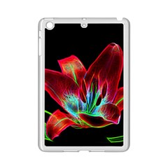 Flower Pattern Design Abstract Background Ipad Mini 2 Enamel Coated Cases