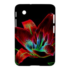Flower Pattern Design Abstract Background Samsung Galaxy Tab 2 (7 ) P3100 Hardshell Case