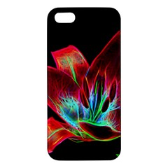Flower Pattern Design Abstract Background Iphone 5s/ Se Premium Hardshell Case