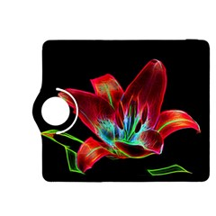 Flower Pattern Design Abstract Background Kindle Fire Hdx 8 9  Flip 360 Case
