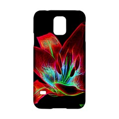 Flower Pattern Design Abstract Background Samsung Galaxy S5 Hardshell Case