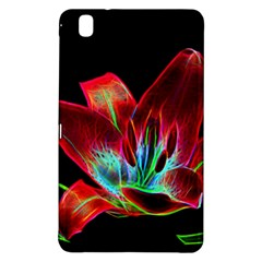 Flower Pattern Design Abstract Background Samsung Galaxy Tab Pro 8 4 Hardshell Case