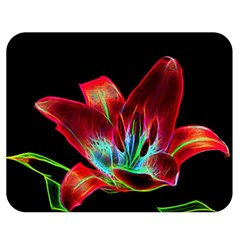Flower Pattern Design Abstract Background Double Sided Flano Blanket (medium)