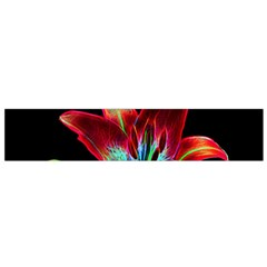 Flower Pattern Design Abstract Background Flano Scarf (small)