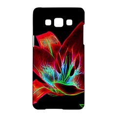 Flower Pattern Design Abstract Background Samsung Galaxy A5 Hardshell Case