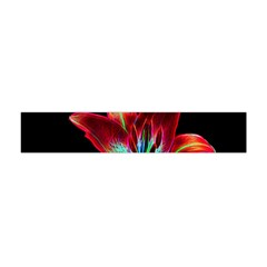 Flower Pattern Design Abstract Background Flano Scarf (Mini)