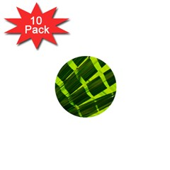Frond Leaves Tropical Nature Plant 1  Mini Buttons (10 Pack)