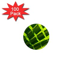 Frond Leaves Tropical Nature Plant 1  Mini Magnets (100 pack)