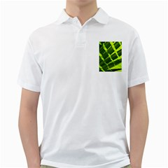 Frond Leaves Tropical Nature Plant Golf Shirts