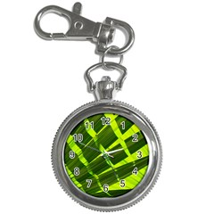 Frond Leaves Tropical Nature Plant Key Chain Watches