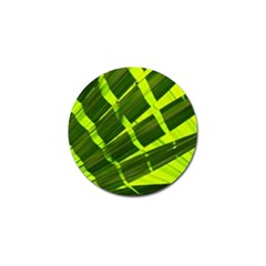 Frond Leaves Tropical Nature Plant Golf Ball Marker