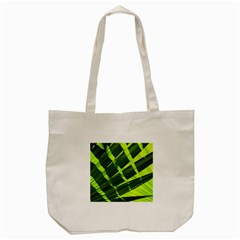 Frond Leaves Tropical Nature Plant Tote Bag (cream)