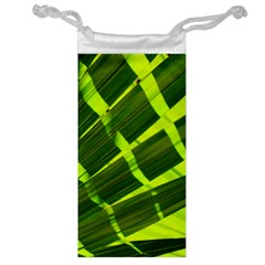 Frond Leaves Tropical Nature Plant Jewelry Bag