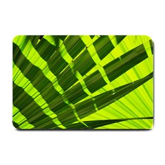 Frond Leaves Tropical Nature Plant Small Doormat