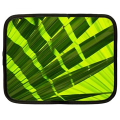 Frond Leaves Tropical Nature Plant Netbook Case (large)