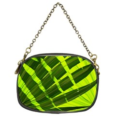Frond Leaves Tropical Nature Plant Chain Purses (Two Sides)