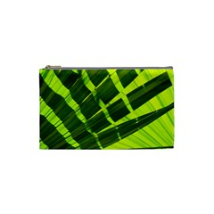 Frond Leaves Tropical Nature Plant Cosmetic Bag (small)